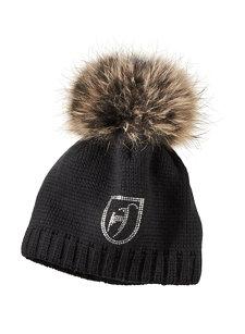 beanie fur knit hat