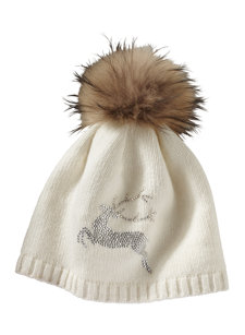 bella stag knit hat