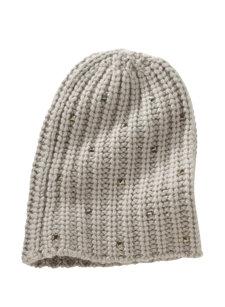 venus crystal knit hat