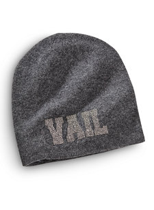 womens vail stones knit hat