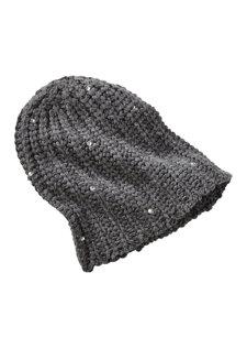 mars crystal knit hat