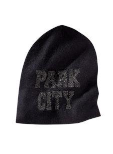 park city crystal hat