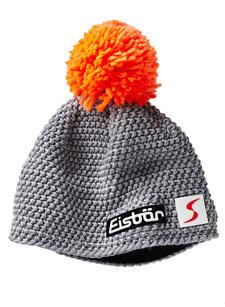 jamie pom knit hat