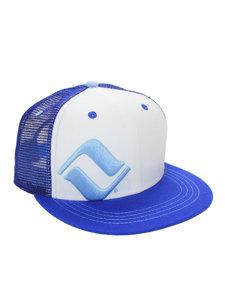 vail mesh white hat