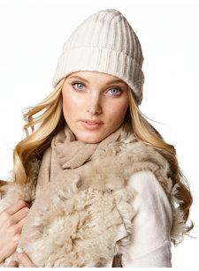 priska cashmere knit hat