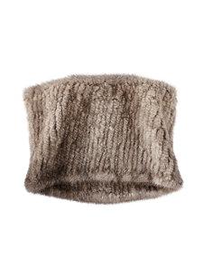 perrie mink cowl scarf