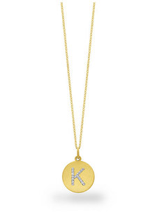 diamond disc initial k charm