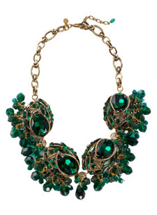 geneva emerald necklace