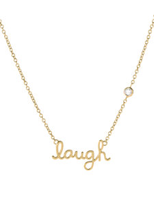 laugh necklace