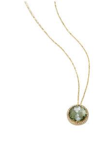 cheryl green topaz necklace