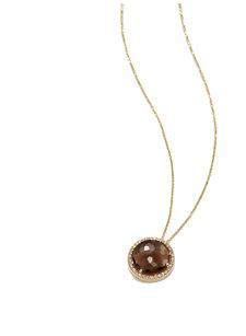 bea smoky quartz necklace