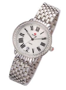 serein diamond dial watch