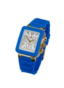 jelly blue watch