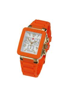 jelly orange watch
