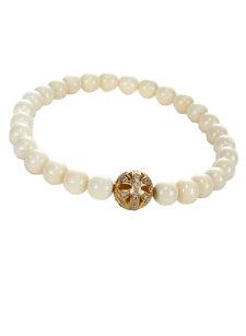 bone butterfly bracelet