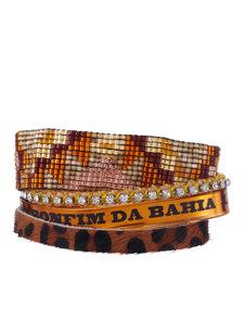 leo brown leopard bracelet