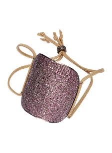 pink sapphire cuff bracelet