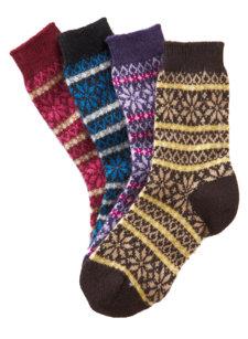 molly fairisle sock