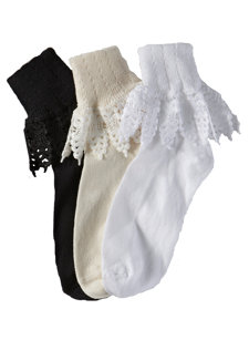 mountain lace anklet sock