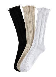 crochet edge sock