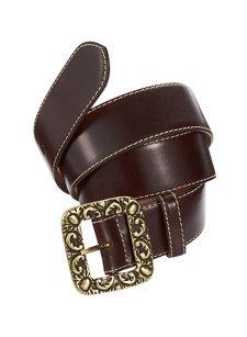 scroll buckle belt