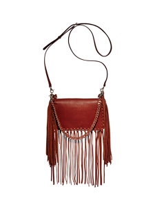 kate fringe cognac bag