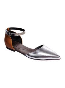 monili ankle strap flat