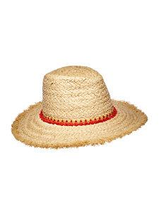tassel trim hat