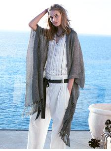 look 1 linen shawl