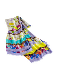 drew floral scarf