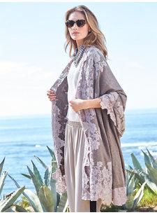 celie lace shawl