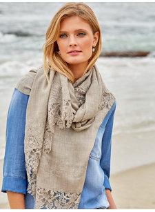 dore lace shawl