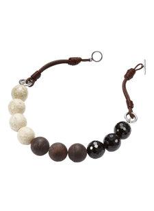 roma mix bead necklace