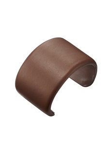 large leather cuff