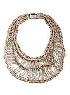 monili macrame necklace
