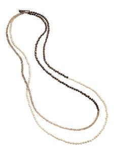 smokey quartz wrap bracelet