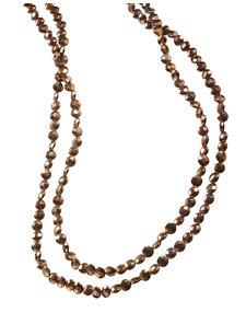 look 11 copper hematite necklace