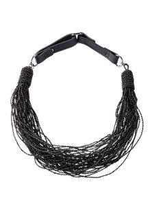 monili multi strand necklace