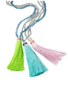 cortesia tassel necklace