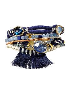 athena navy bracelet