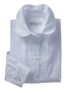 clemence shirt white