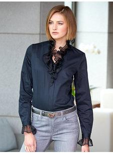 antonia ruffle shirt