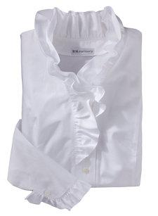 veronika ruffle shirt