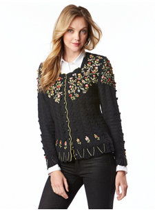 toni black sweater