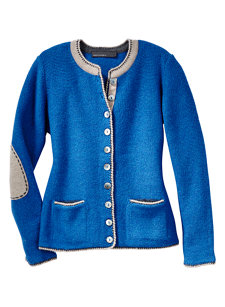 zella sweater sea blue