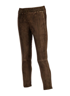 imani suede pant
