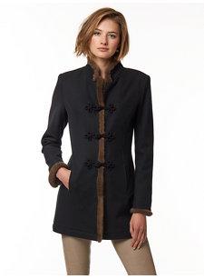 franca black coat