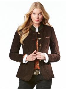britta brown jacket