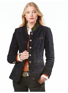 britta navy jacket