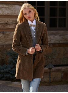 gisela suede jacket